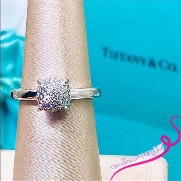 0a32bce3e5afd T&Co Paloma's Sugar Stacks White Gold/Diamond Ring